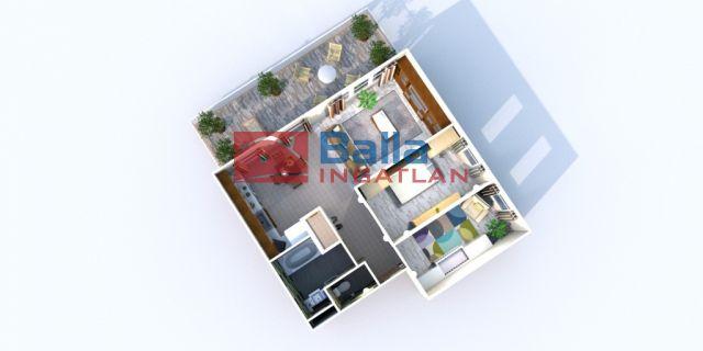 Bicske - Csákvári utca:  62 m²-es társasházi lakás   (30'968'730 ,- Ft)
