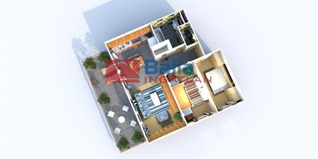 Bicske - Csákvári utca:  63 m²-es társasházi lakás   (31'495'230 ,- Ft)