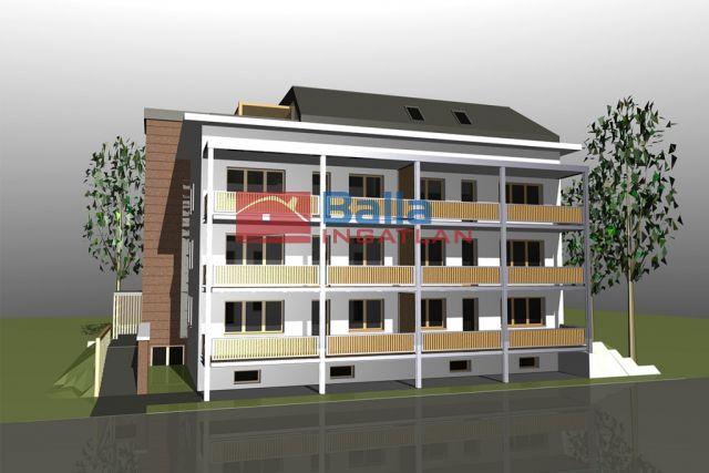 Bicske - Csákvári utca:  63 m²-es társasházi lakás   (32'482'260 ,- Ft)