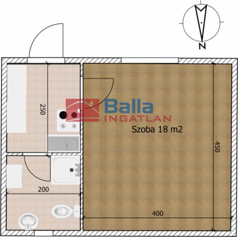XXIII. Kerület (Soroksár-Újtelep) - Köves utca:  27 m²-es társasházi lakás   (19'500'000 ,- Ft)