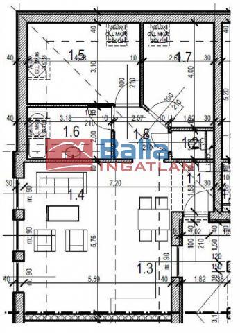 Nagycenk - Központban utca:  70 m²-es társasházi lakás   (33'500'000 ,- Ft)