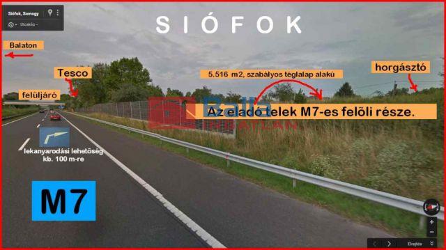 Siófok - Békásdűlő dűlő:  5574 m²-es telek   (19'900'000 ,- Ft)