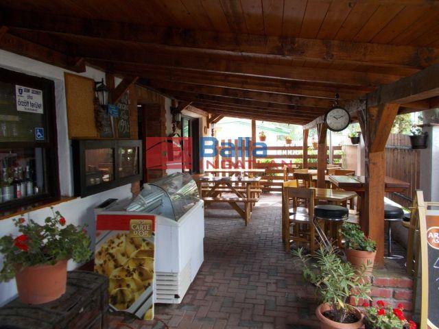 Dömsöd - Vízpart utca:  185 m²-es vendéglátó egység utcai bejárattal   (48'500'000 ,- Ft)