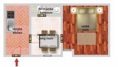 Eladó 79 m²-es házrész IV. Kerület (Újpest-kertváros), Lázár Vilmos utca: 19'900'000 Ft
