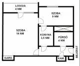 Eladó 39 m²-es társasházi lakás IX. Kerület (József Attila ltp.), Távíró utca: 15'800'000 Ft