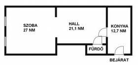 Eladó 63 m²-es társasházi lakás VIII. Kerület (Józsefváros), Nagy Fuvaros utca: 17'500'000 Ft