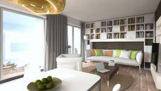 Eladó 35 m²-es társasházi lakás VIII. Kerület (Századosnegyed), Százados út: 18'400'000 Ft