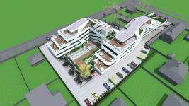 Balatonszemes, Cinka Panna utca, 50 m²-es, 1. emeleti, társasházi lakás