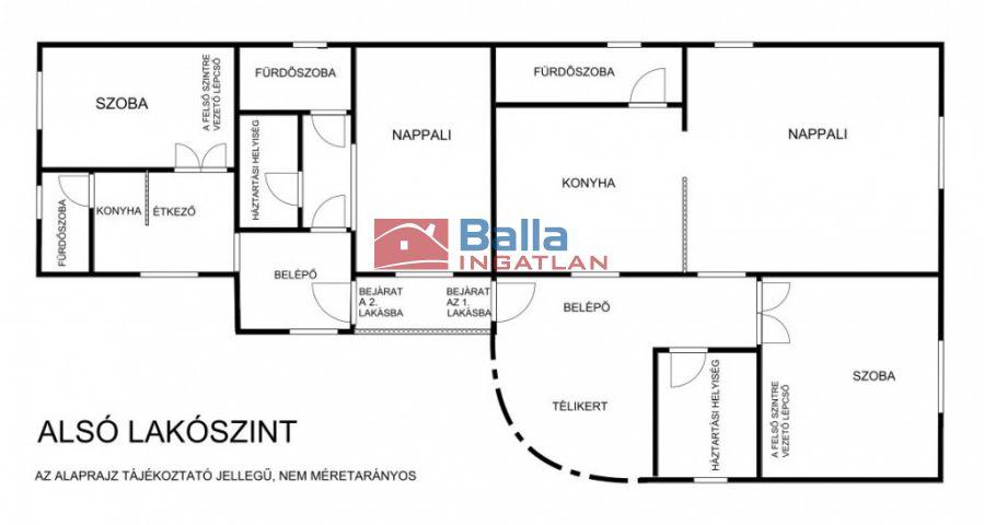 XVII. Kerület (Rákoscsaba) - Péceli út:  316 m²-es családi ház   (115'000'000 ,- Ft)