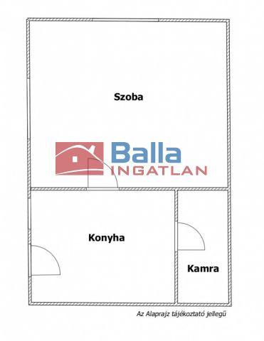 XVII. Kerület (Rákoshegy) - Frekventált rákoshegyi utca:  50 m²-es családi ház   (26'100'000 ,- Ft)