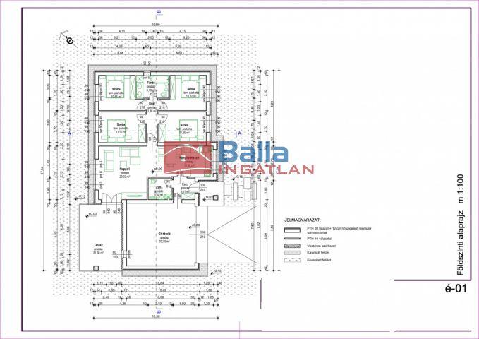 Gyál - Gyálszőlő:  131 m²-es családi ház   (65'900'000 ,- Ft)