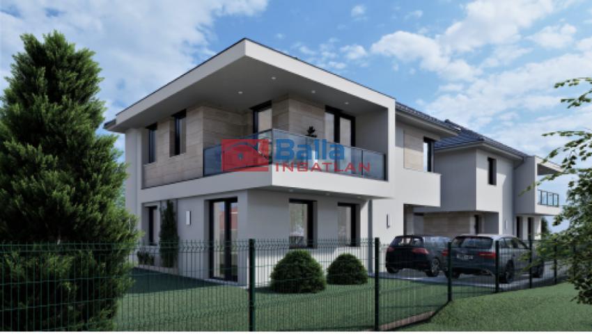 Gyömrő - Frangepán utca környéke:  125 m²-es ikerház   (69'900'000 ,- Ft)