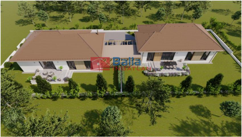 Pécel - Levendulás:  109 m²-es ikerház   (69'900'000 ,- Ft)