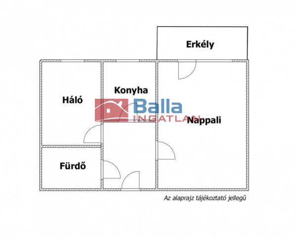XVII. Kerület (Rákoskeresztúr) - SZÍNES HÁZAK út:  43 m²-es társasházi lakás   (27'000'000 ,- Ft)
