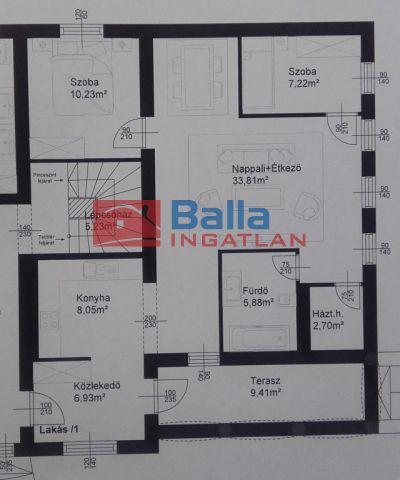 Fertőszentmiklós - Fertőszentmiklós utca:  80 m²-es társasházi lakás   (48'482'500 ,- Ft)