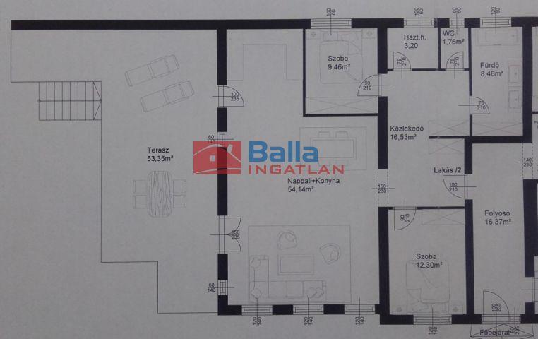 Fertőszentmiklós - Fertőszentmiklós utca:  133 m²-es társasházi lakás   (74'982'500 ,- Ft)
