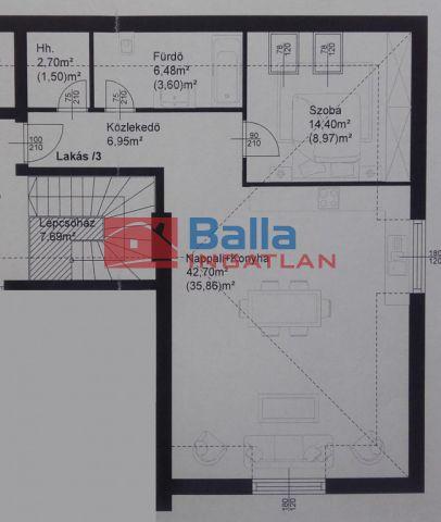 Fertőszentmiklós - Fertőszentmiklós utca:  73 m²-es társasházi lakás   (35'762'500 ,- Ft)
