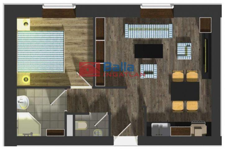 Nagycenk - Nagycenk utca:  39 m²-es társasházi lakás   (17'900'000 ,- Ft)