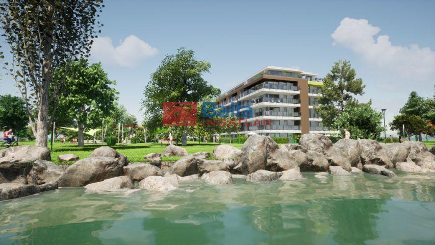 Siófok - Ezüstpart:  65 m²-es társasházi lakás   (128'814'000 ,- Ft)